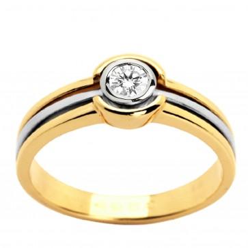 Каблучка з 1 діамантом 321-0533