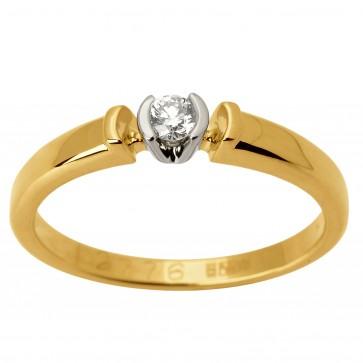 Каблучка з 1 діамантом 321-1567