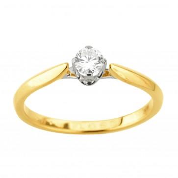 Каблучка з 1 діамантом 321-2038