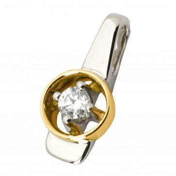 Підвіска з 1 діамантом 329-0467