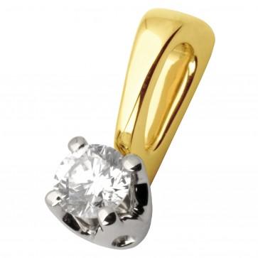 Підвіска з 1 діамантом 329-0657