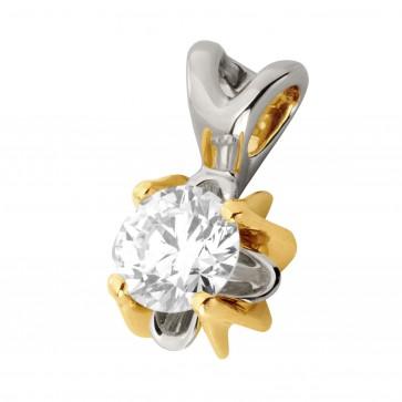 Підвіска з 1 діамантом 329-0816
