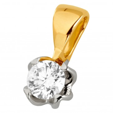 Підвіска з 1 діамантом 329-0823