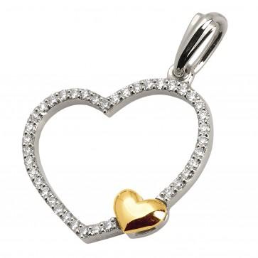 Підвіска з декількома діамантами 349-0514