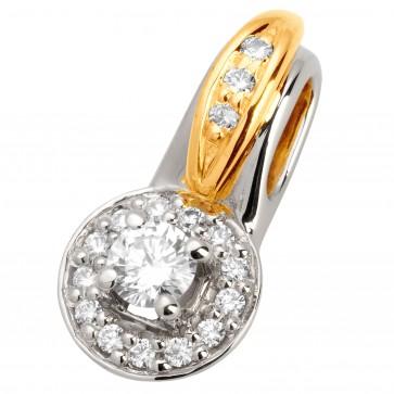 Підвіска з декількома діамантами 349-0618