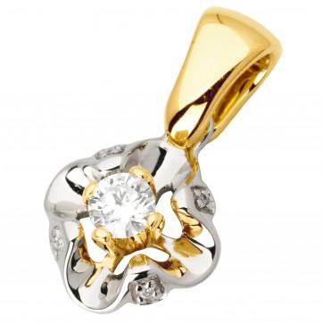 Підвіска з декількома діамантами 349-0686