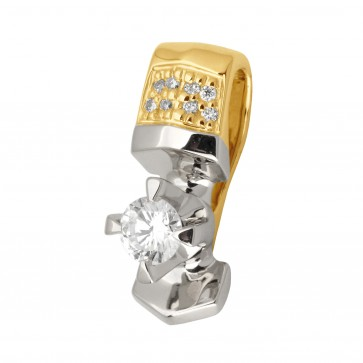 Підвіска з декількома діамантами 349-0740