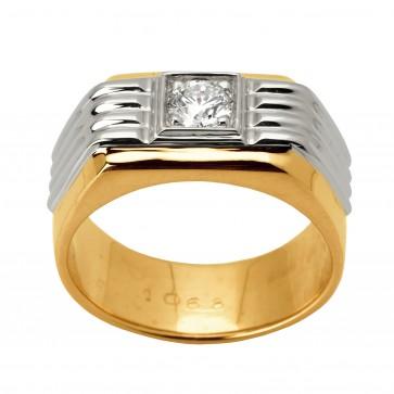 Перстень з 1 діамантом 821-1329