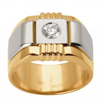 Перстень з 1 діамантом 821-1331