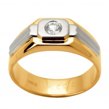 Перстень з 1 діамантом 821-1339