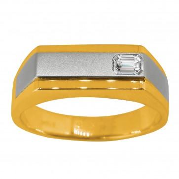 Перстень з 1 діамантом 821-1390