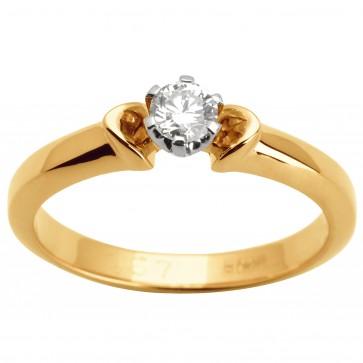 Каблучка з 1 діамантом 821-1493