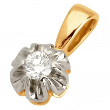 Підвіска з 1 діамантом 829-0662
