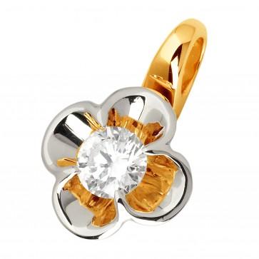 Підвіска з 1 діамантом 829-0780