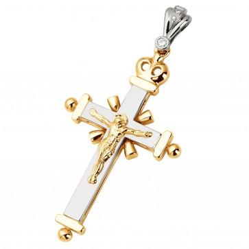 Хрест з декількома діамантами 849-0545
