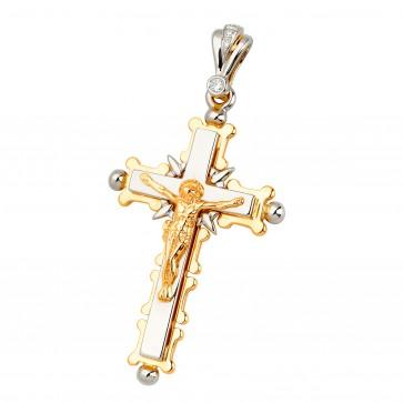 Хрест з декількома діамантами 849-0576