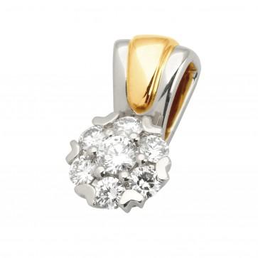 Підвіска з декількома діамантами 849-0577