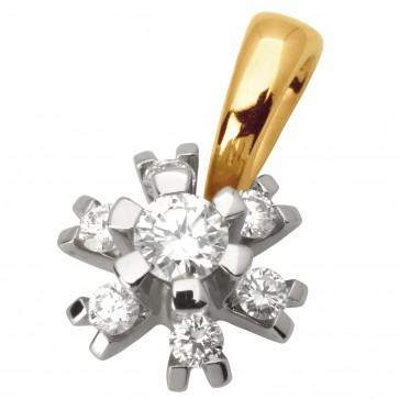 Підвіска з декількома діамантами 849-0587