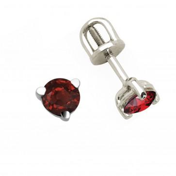 Сережки з кольоровим камінням 902-0215