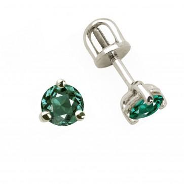 Сережки з кольоровим камінням 902-0242
