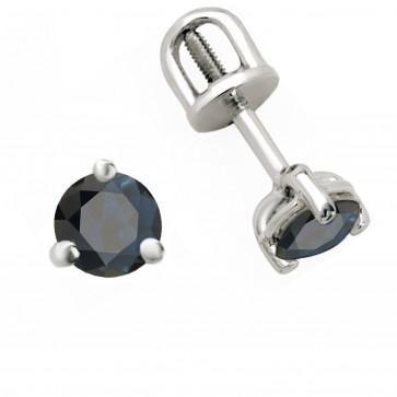 Сережки з кольоровим камінням 902-0244