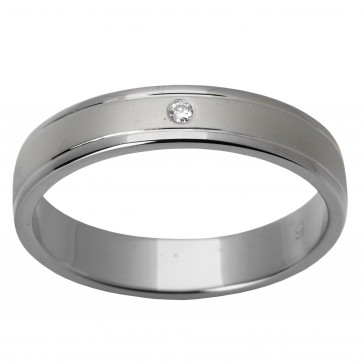 Обручка з 1 діамантом 921-0305