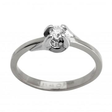 Каблучка з 1 діамантом 921-0877