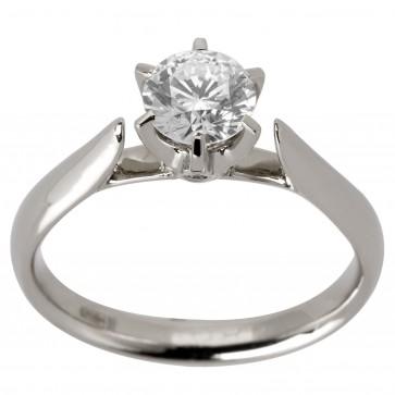 Каблучка з 1 діамантом 921-1138