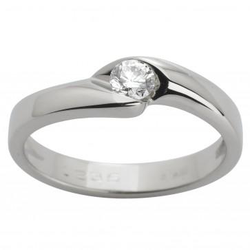 Каблучка з 1 діамантом 921-1218
