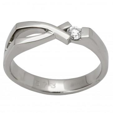 Каблучка з 1 діамантом 921-1296