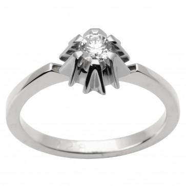 Каблучка з 1 діамантом 921-1498