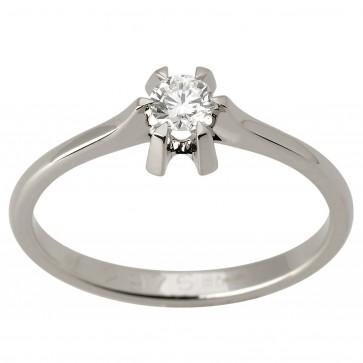 Каблучка з 1 діамантом 921-1576