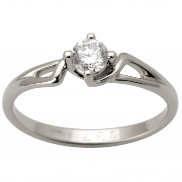 Каблучка з 1 діамантом 921-1593