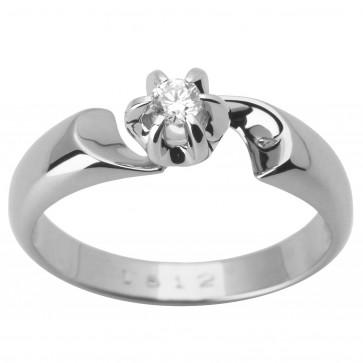 Каблучка з 1 діамантом 921-1629