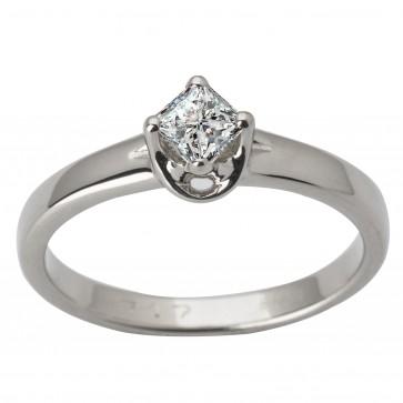 Каблучка з 1 діамантом 921-1719.12