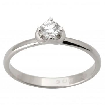 Каблучка з 1 діамантом 921-1727