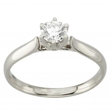 Каблучка з 1 діамантом 921-1748