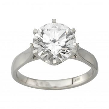 Каблучка з 1 діамантом 921-1766