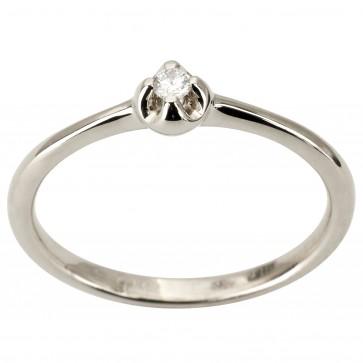 Каблучка з 1 діамантом 921-1882