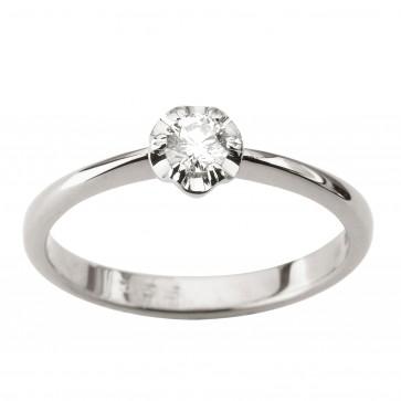 Каблучка з 1 діамантом 921-1906