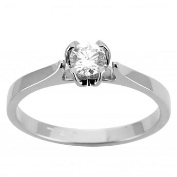 Кольцо с 1 бриллиантом 921-1925