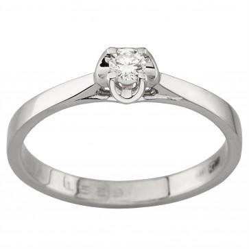 Каблучка з 1 діамантом 921-1990