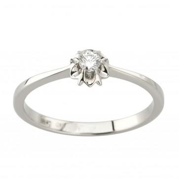 Каблучка з 1 діамантом 921-2060