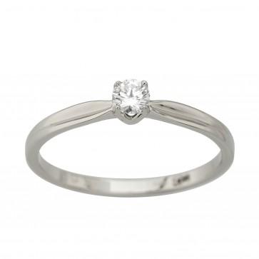 Каблучка з 1 діамантом 921-4026