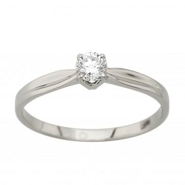 Каблучка з 1 діамантом 921-4027