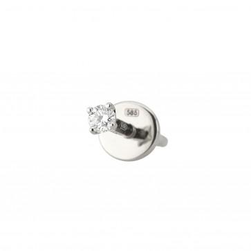 Одна сережка з 1 діамантом 922-1328.15