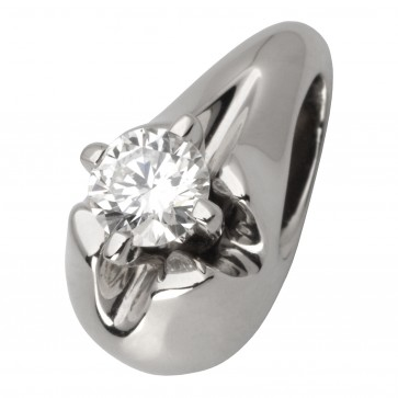 Підвіска з 1 діамантом 929-0600