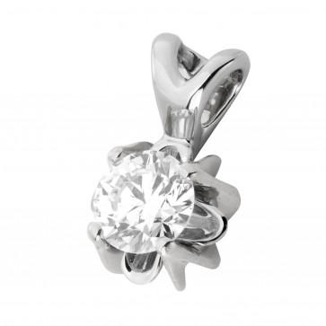 Підвіска з 1 діамантом 929-0816