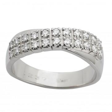 Каблучка з декількома діамантами 941-0453