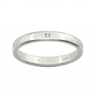 Обручка з декількома діамантами 941-0817